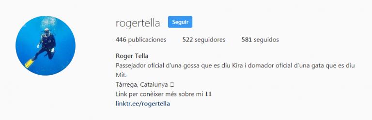 Bio Roger Tella