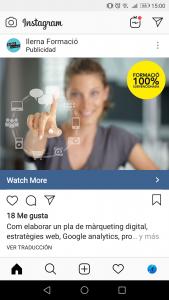publicidad instagram ilerna