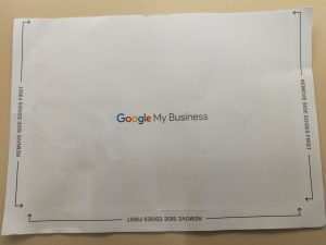 postal de google my business