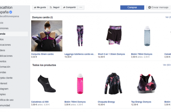 social commerce decathlon